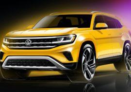 Раскрыт дизайн обновленного Volkswagen Teramont