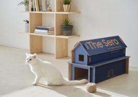 Samsung изменила дизайн коробок для телевизоров, чтобы из них можно было делать мебель для кошек и дома