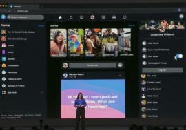 Facebook обновил дизайн сайта и добавил темный режим