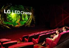 Первый кинотеатр со светодиодным дисплеем LG CINEMA и технологией Dolby Atmos делает просмотр фильмов еще более незабываемым