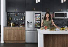 Мировые продажи флагманских холодильников LG InstaView достигли одного миллиона единиц