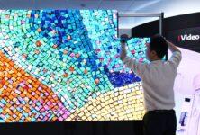LG LSAA — инновационный светодиодный дисплей с бесконтактным соединением