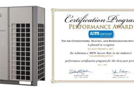 LG удостоена наград AHRI Performance Award  третий год подряд