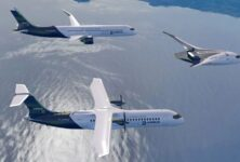 Airbus представил концепты самолета, не загрязняющего природу.