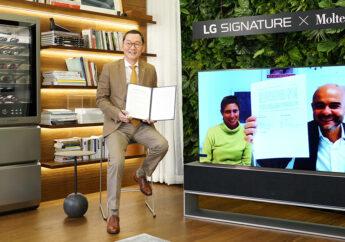 LG и премиальный итальянский бренд MOLTENI&C S.P.A объединились для разработки совместных проектов