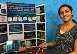 14-летняя девочка сделала открытие, которое может помочь найти лекарство от COVID-19