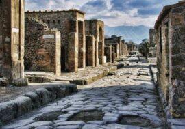 В Помпеях нашли древний киоск с остатками еды