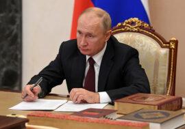 Владимир Путин подписал закон об удаленке