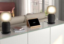 Sonos совместно с IKEA, работают над новыми настольными лампами Symfonisk и настенным панно с динамиками