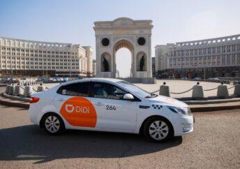 Доход водителей такси DiDi в Казахстане может достигать  1,2 млн тенге