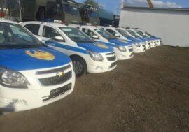 Полиция Акмолинской области  получила служебные автомобили казахстанского производства