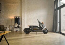 Электрический скутер BMW CE 04 – киберпанк на вашей улице