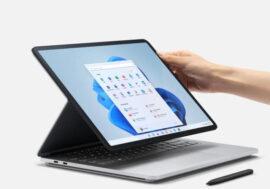 Представлен премиальный ноутбук Microsoft Surface Laptop Studio